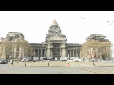 Brussels' Palais de Justice will finally get a facelift after 40 years trapped behind scaffolding