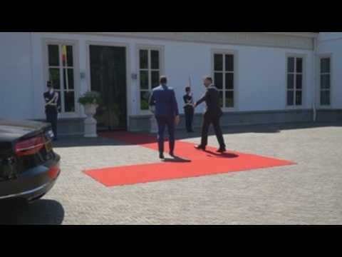 Mark Rutte, Pedro Sanchez meet in The Haghe