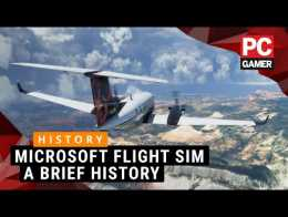A brief history of Microsoft Flight Simulator
