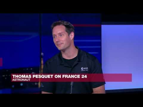 French astronaut Thomas Pesquet: 'I couldn't be more excited to go back into space'