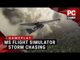 New Microsoft Flight Simulator Gameplay | Stormy weather montage