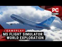 New Microsoft Flight Simulator Gameplay | Flying over famous landmarks & cities