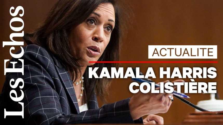 Illustration pour la vidéo Kamala Harris colistière de Joe Biden : les moments clefs récents de sa carrière