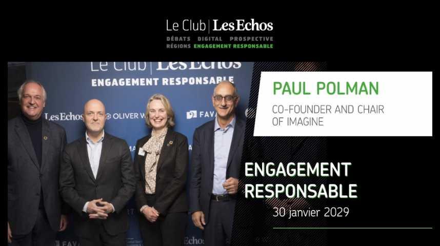 Illustration pour la vidéo Club Les Echos Engagement Responsable