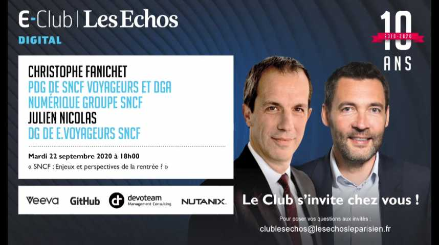 Illustration pour la vidéo SNCF : enjeux et perspectives de la rentrée