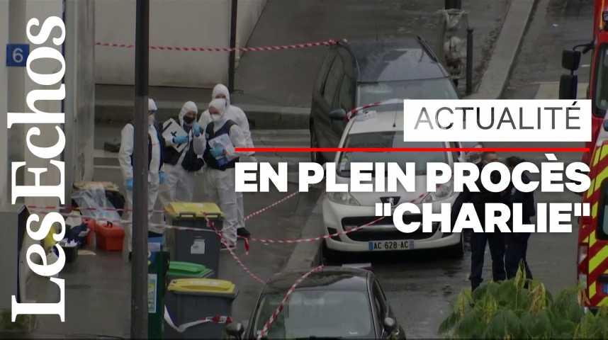 Illustration pour la vidéo Attaque à Paris près des locaux de Charlie Hebdo : ce que l'on sait