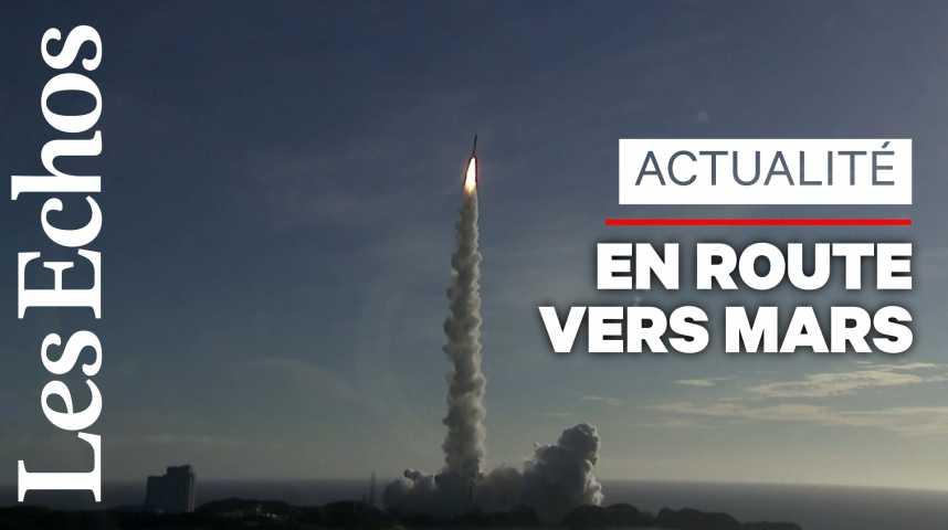 Illustration pour la vidéo La première mission spatiale arabe vers Mars a décollé au Japon