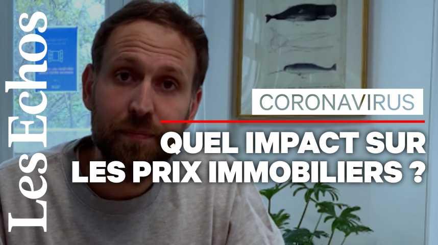 Illustration pour la vidéo Immobilier : la hausse des prix a-t-elle été enrayée par le Coronavirus ?