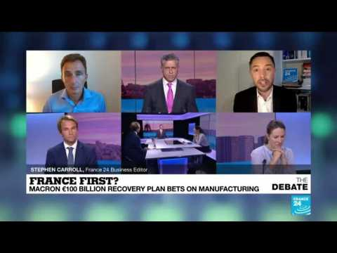 France first? Macron €100 billion recovery plan bets on manufacturing