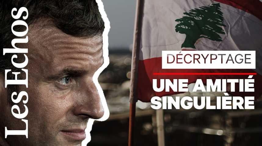 Illustration pour la vidéo Pourquoi la France est-elle aussi proche du Liban ?