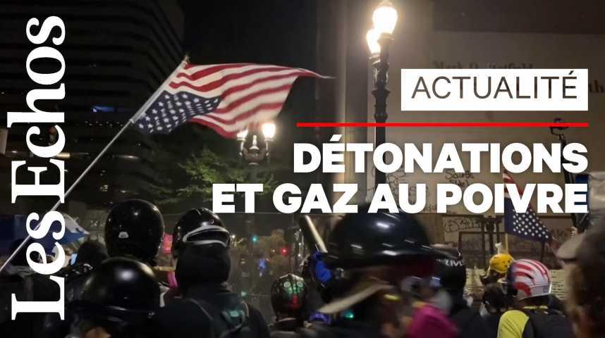Illustration pour la vidéo Black Lives Matter : la tension monte entre policiers et manifestants aux Etats-Unis