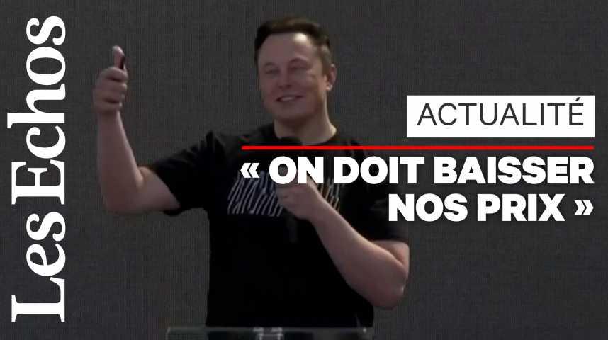 Illustration pour la vidéo Elon Musk promet une Tesla à 25.000 dollars d'ici à 3 ans