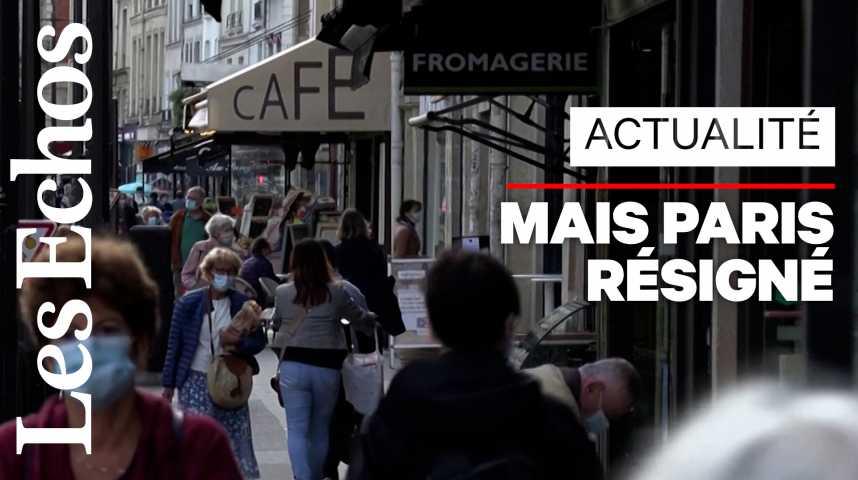 Illustration pour la vidéo Couvre-feu : à Paris, les patrons de bars sont résignés