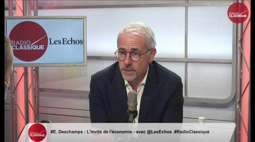 """Illustration pour la vidéo Embauches : """"On a une capacité de faire un effort pour les jeunes"""" Emmanuel Deschamps (Boulanger)"""