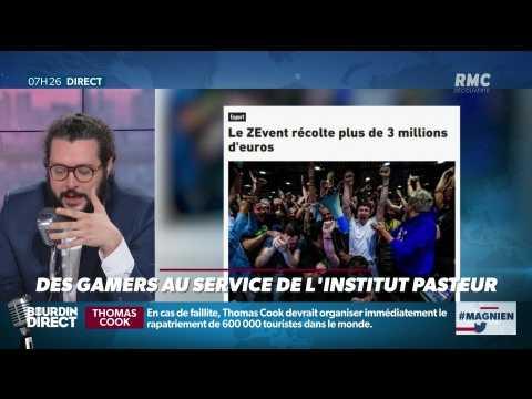 #Magnien, la chronique des réseaux sociaux : Des gamers au service de l'Institut Pasteur - 23/09