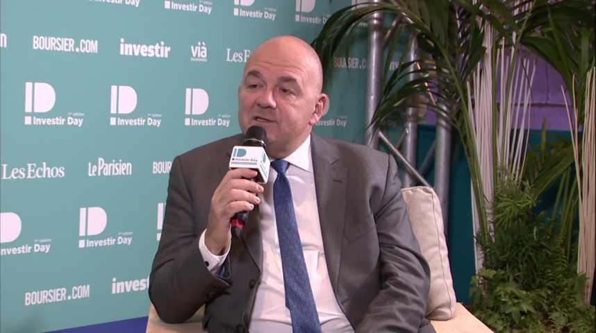 Illustration pour la vidéo Stéphane BOUJNAH, Président, EURONEXT
