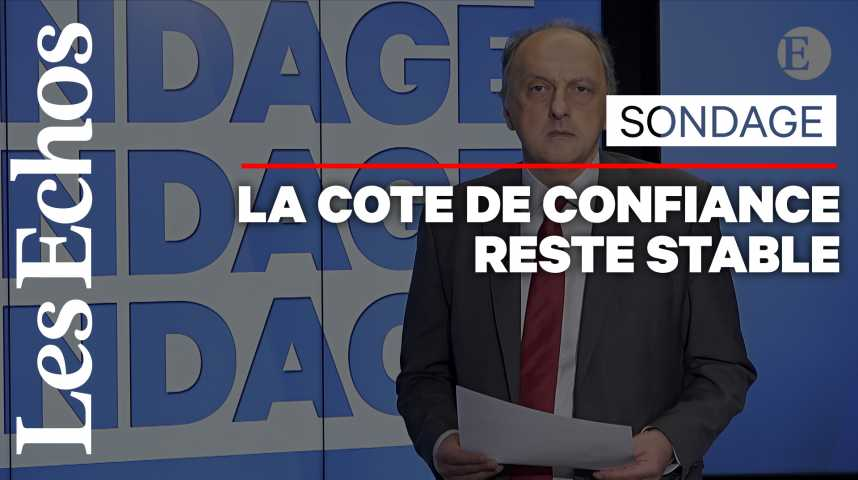 Illustration pour la vidéo 6 Français sur 10 ne font toujours pas confiance au chef de l'Etat