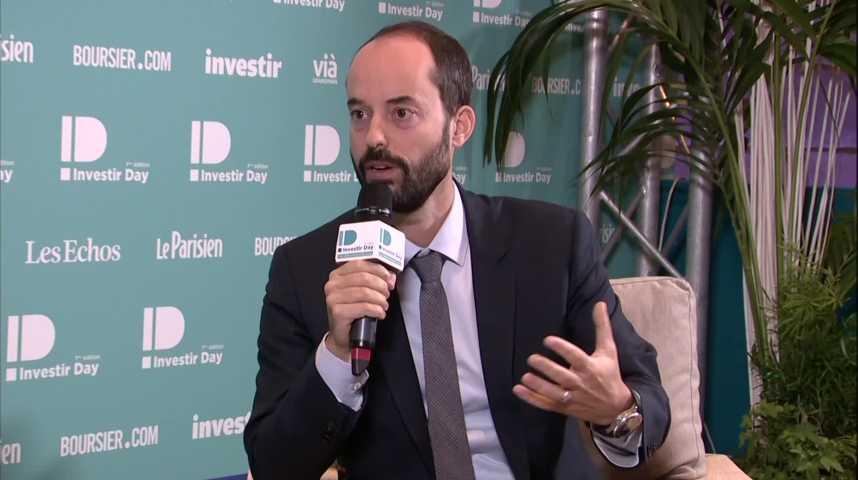 Illustration pour la vidéo Nicolas CHRETIEN , VP Investor Relations , AIRBUS