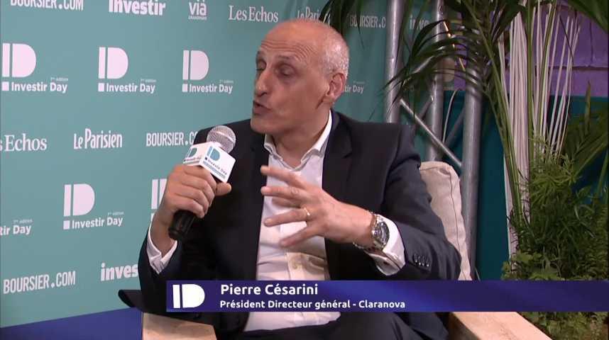 Illustration pour la vidéo Pierre CESARINI, Président-Directeur Général, CLARANOVA