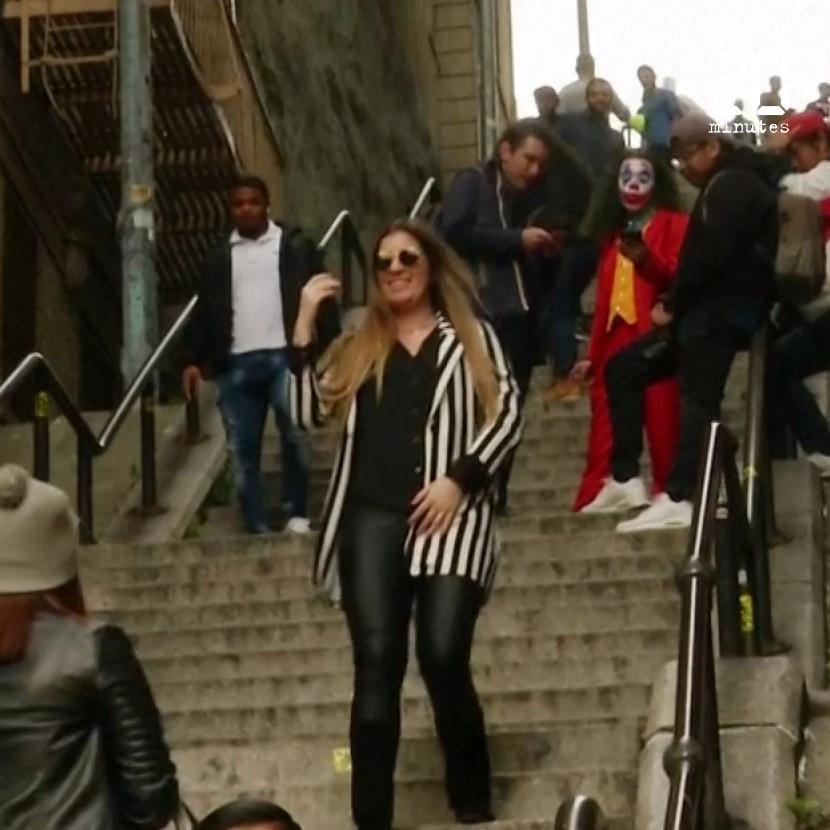«Joker» : Les touristes affluent sur l'escalier du Bronx de l'affiche du film