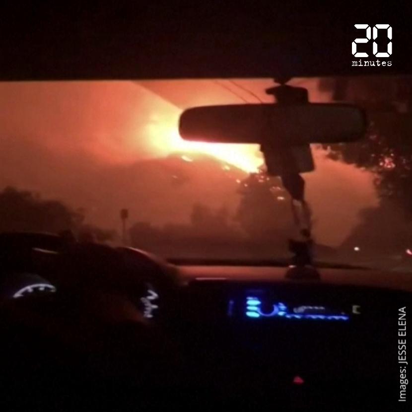 Incendies de Los Angeles: Des étudiantes quittent leur campus pour échapper aux flammes