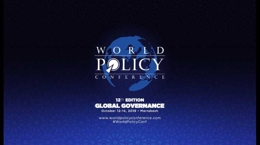 Illustration pour la vidéo La politique de Donald Trump au centre des débats de la World Policy Conference