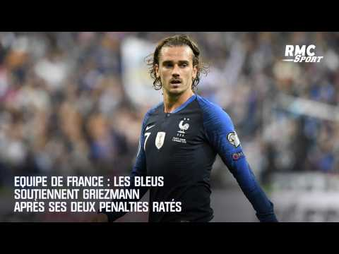 Equipe de France : les Bleus soutiennent Griezmann après ses deux penalties ratés