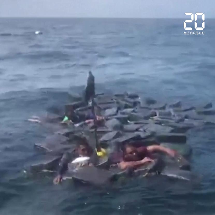 Des narcotrafiquants survivent à un naufrage grâce à leurs sacs de cocaïne