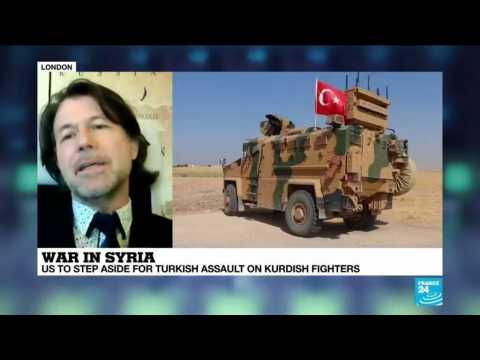 War in Syria: US to Step Aside for Turkish Assault on Kurdish Fighters