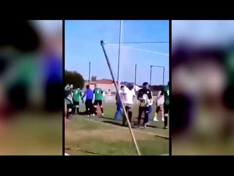 A Venette le match de foot dégénère en bagarre générale : deux joueurs  hospitalisés