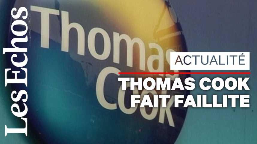 Illustration pour la vidéo La faillite de Thomas Cook provoque « la plus grande opération de rapatriements depuis la Seconde guerre mondiale »