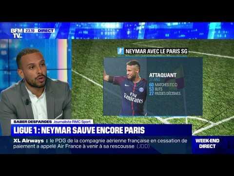 Ligue 1: Neymar sauve encore le PSG - 22/09