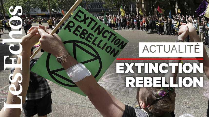 Illustration pour la vidéo Qui est Extinction Rebellion, le mouvement écologiste radical mais « non violent » ?
