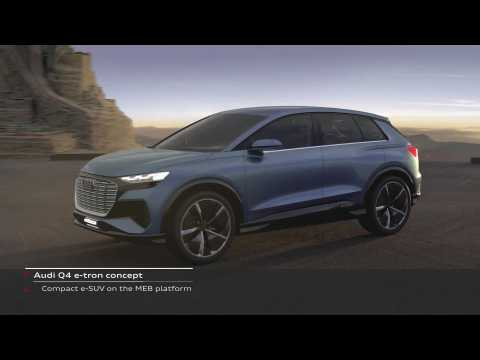 Audi Q4 Design e-tron concept Packaging and Design