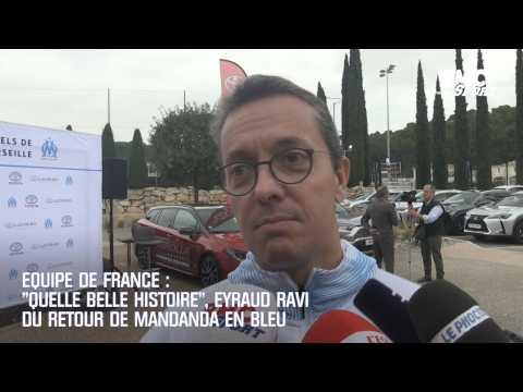 """Equipe de France : """"Quelle belle histoire"""", Eyraud ravi du retour de Mandanda en Bleu"""
