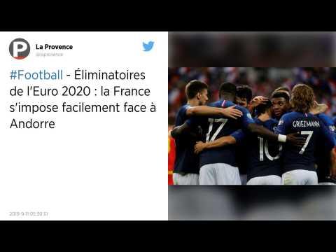 Qualifications Euro 2020 : Les Bleus font le show face à l'Andorre pour leur 100ème au Stade de France