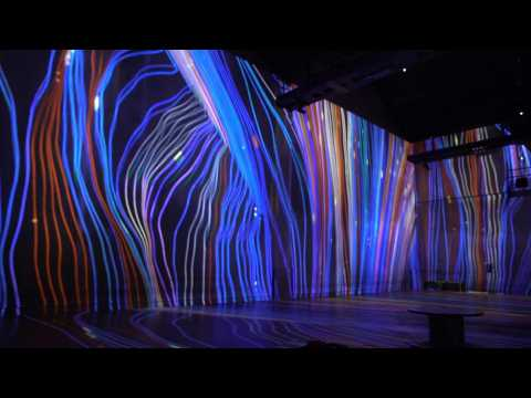 Sound and light artists on show at Paris digital arts festival