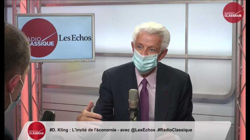 """Illustration pour la vidéo Aides aux secteurs sinistrés : """"Le report de charges n'est pas adapté aux longues crises"""" (Didier Kling)"""