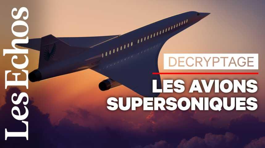 Illustration pour la vidéo 20 ans après le Concorde, à quoi ressemblera le prochain avion supersonique ?
