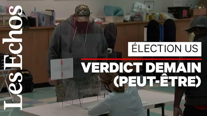 Illustration pour la vidéo Présidentielle américaine : les premiers bureaux de vote ont ouvert
