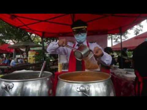 From pilot to street food seller due to pandemic