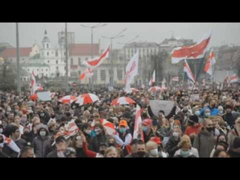 100K march against Lukashenko in Minsk, opposition calls nationwide strike