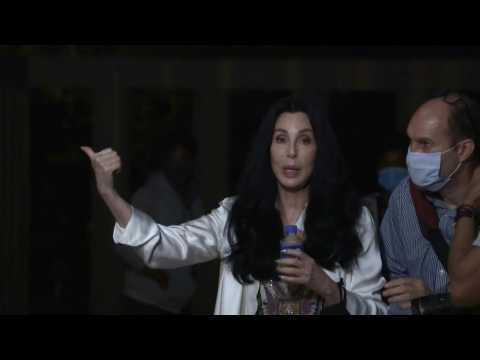 Cher sends off elephant to new home in Cambodia