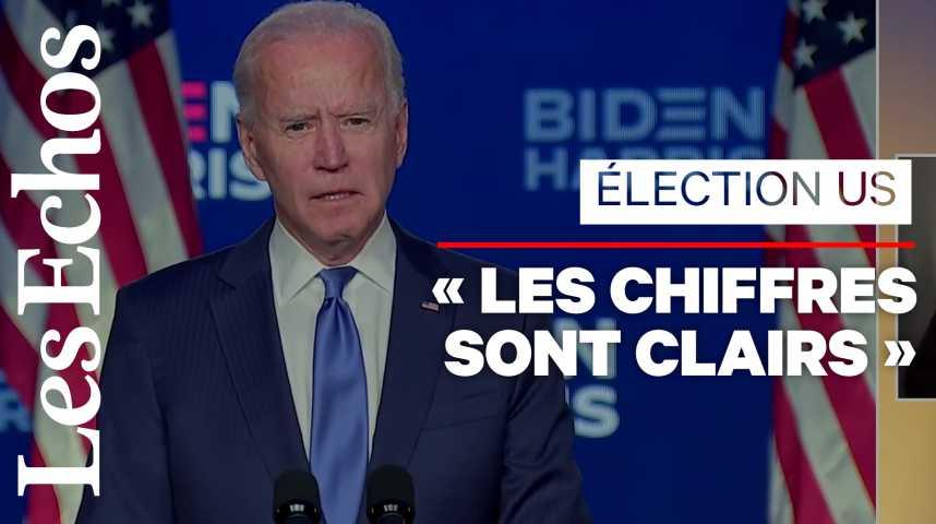 Illustration pour la vidéo «Nous allons battre Donald Trump par 4 millions de voix», affirme Joe Biden