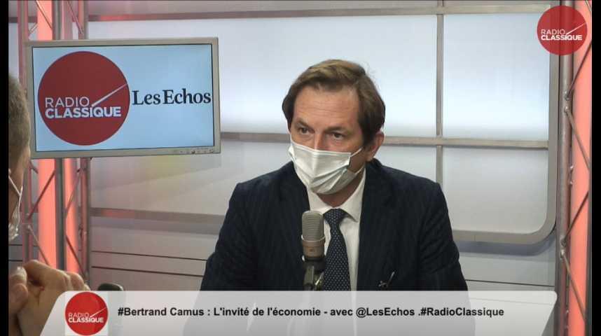 """Illustration pour la vidéo Suez-Véolia : """"Nous sommes dans une situation de blocage"""" déplore Bertrand Camus (Suez)"""
