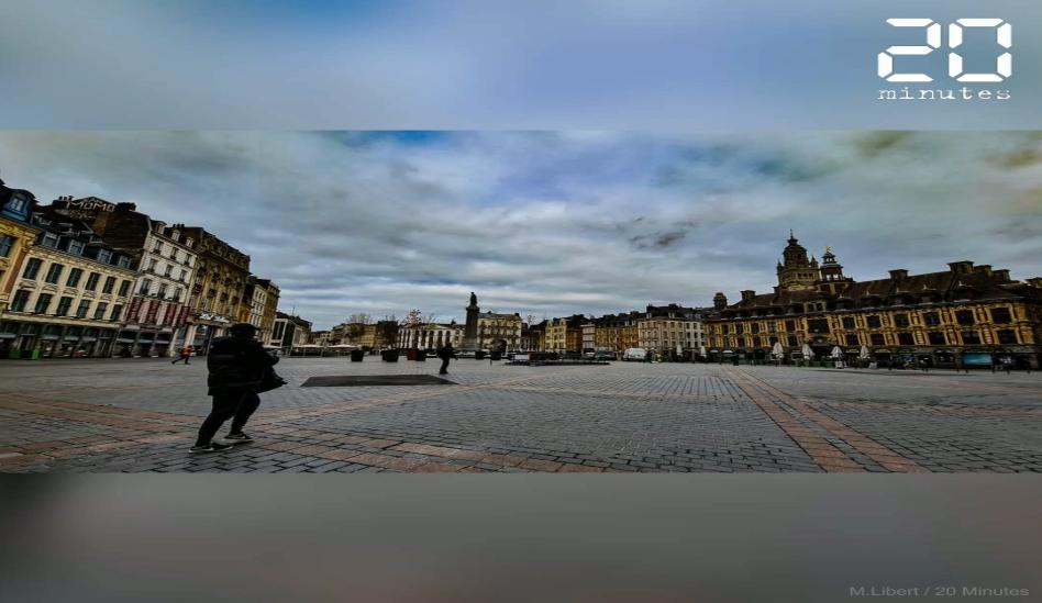 Reconfinement à Lille: Les images du premier jour