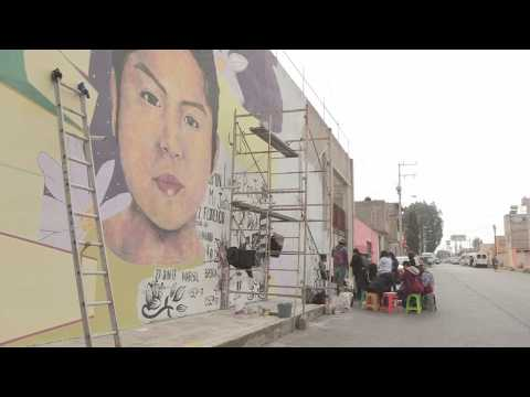 Mural dedicated to young woman murdered in Mexico transforms injustice into dignity