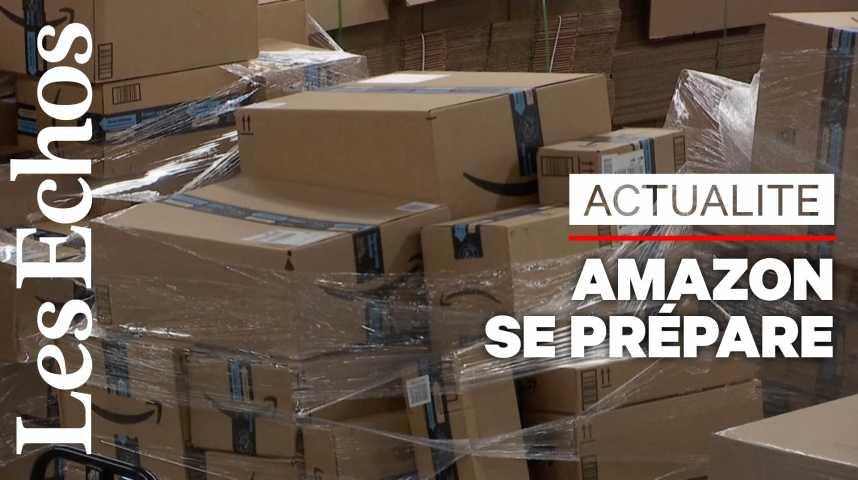 Illustration pour la vidéo Aux Etats-Unis, Amazon se prépare au Black Friday