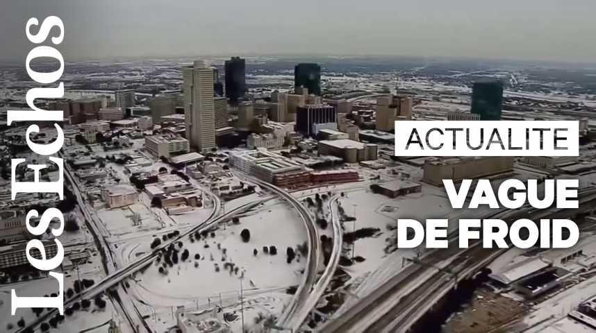 Illustration pour la vidéo Vague de froid historique et tornades aux Etats-Unis : au moins 20 morts