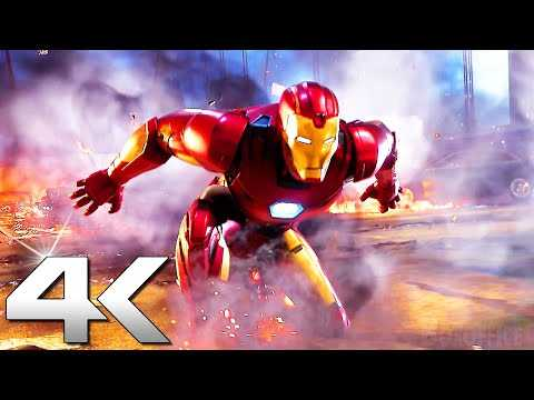MARVEL'S AVENGERS Trailer 4K (2021) PS5/Xbox Series X